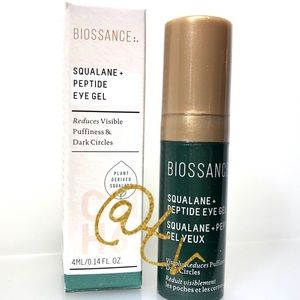 2/$20 Biossance Squalane Peptide Eye Gel Mini NEW